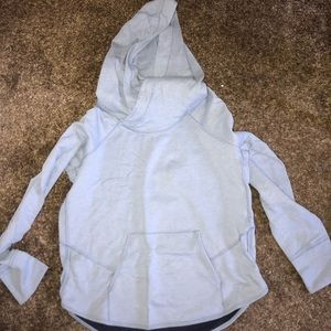 Blue lululemon time out hoodie
